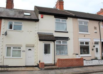 Thumbnail 2 bedroom terraced house for sale in Crescent Road, Hugglescote, Coalville