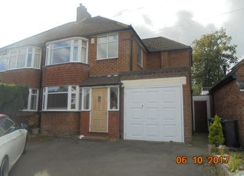 Thumbnail 3 bedroom semi-detached house to rent in Witherford Croft, Solihull