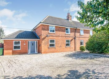 Thumbnail 4 bed semi-detached house for sale in Reeds Lane, Banningham Road, Aylsham, Norwich