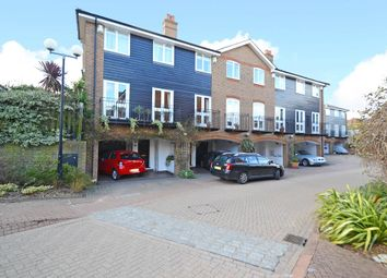 Thumbnail 3 bed terraced house to rent in Harvest Lane, Thames Ditton
