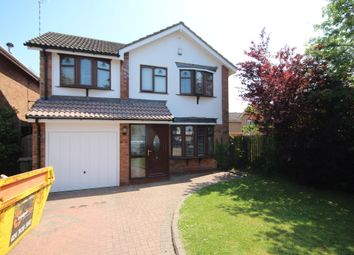 Thumbnail 4 bed detached house for sale in Foreland Way, Coventry