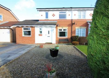 Thumbnail 3 bed semi-detached house for sale in Heathfield Park, Middleton St. George, Darlington