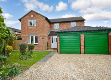 Thumbnail 4 bed detached house for sale in The Meer, Fleckney, Leicester