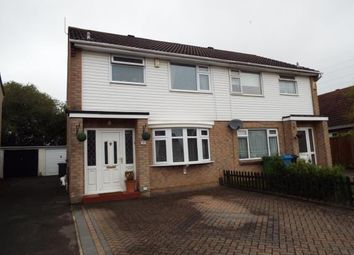 Thumbnail 3 bedroom semi-detached house for sale in Monkton Crescent, Poole