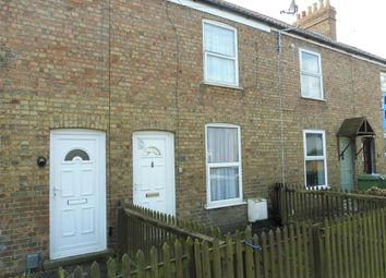 Thumbnail 3 bed terraced house for sale in New Road, Whittlesey, Peterborough