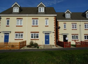 Thumbnail 4 bed terraced house to rent in Heol Bryncethin, Sarn, Bridgend