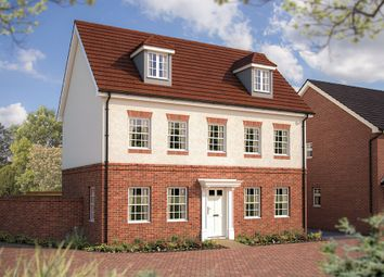 "Thumbnail 5 bed property for sale in ""The Warwick"" at Hyde End Road, Shinfield, Reading"