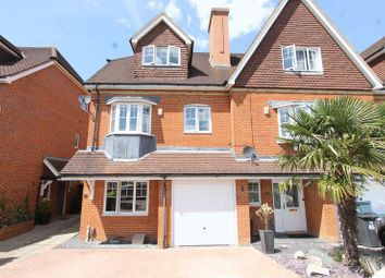 Thumbnail 4 bed terraced house for sale in Lower Green Gardens, Worcester Park