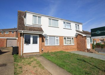 Thumbnail 3 bed semi-detached house for sale in Clover Road, Flitwick