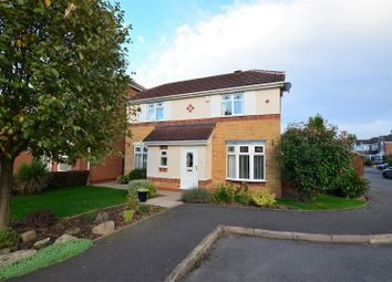 Thumbnail 3 bed detached house for sale in Calder Close, Hilton, Derby