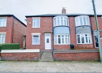 Thumbnail 2 bed flat for sale in Kingsway, Blyth