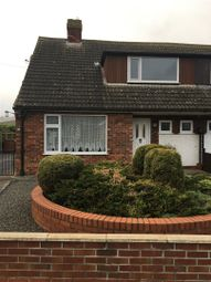 Thumbnail 3 bedroom semi-detached bungalow for sale in Mount Pleasant, Holton-Le-Clay, Grimsby