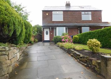 Thumbnail 2 bedroom semi-detached house to rent in Strines Road, Marple, Stockport