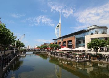 Thumbnail 2 bed flat for sale in The Canalside Gunwharf Quays, Portsmouth