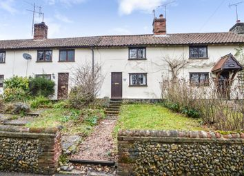 Thumbnail 2 bed terraced house for sale in The Street, Lidgate, Newmarket