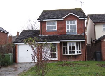 Thumbnail 3 bed detached house to rent in Home Furlong, Wellesbourne, Warwick
