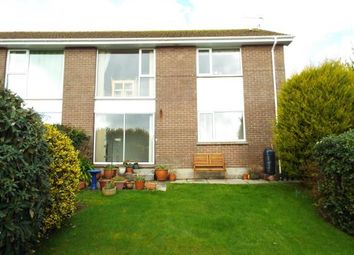 Thumbnail 2 bed flat for sale in St. Austell, Cornwall