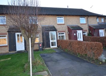 Thumbnail 2 bed terraced house to rent in St Kyneburgha Close, Castor, Peterborough