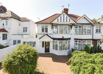 Thumbnail 3 bed semi-detached house for sale in Peter Avenue, Willesden Green, London