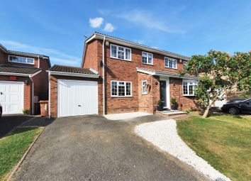 Thumbnail 3 bed semi-detached house for sale in Pine Tree Avenue, Groby, Leicester