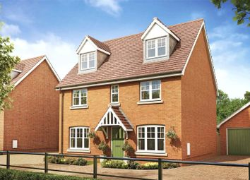 Thumbnail 5 bed detached house for sale in Heather Gardens, Hethersett, Norwich, Norfolk