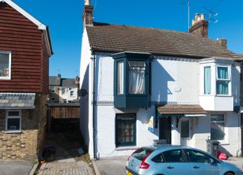 Thumbnail 3 bed end terrace house for sale in Denmark Road, Ramsgate