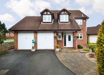 Thumbnail 4 bed detached house for sale in Fernie Close, Stone