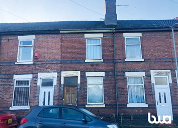 Thumbnail 2 bedroom terraced house for sale in 12 Spring Road, Stoke-On-Trent