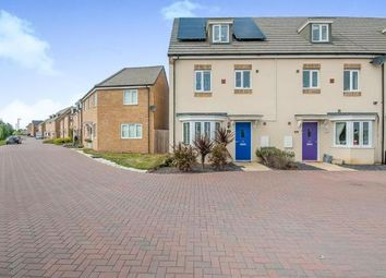 Thumbnail 4 bed end terrace house for sale in Hercules Way, Cardea, Peterborough, Cambridgeshire