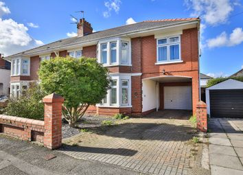 Thumbnail 5 bed semi-detached house for sale in St Francis Road, Whitchurch, Cardiff