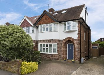 Thumbnail 4 bed semi-detached house for sale in Pembroke Avenue, Surbiton, Surrey