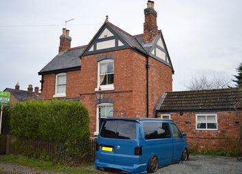 Thumbnail 3 bed detached house for sale in Betton Road, Market Drayton