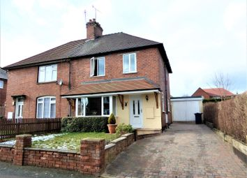 Thumbnail 2 bed semi-detached house for sale in Cross Road, Rugeley