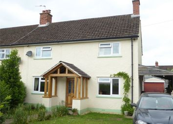 Thumbnail 3 bed semi-detached house for sale in Greenfields, Caldicot, Monmouthshire