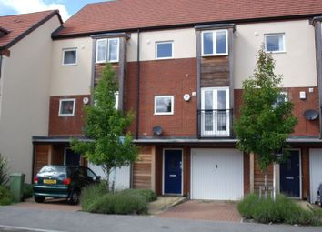 Thumbnail 4 bedroom town house to rent in Walker Avenue, Wolverton Mill, Milton Keynes