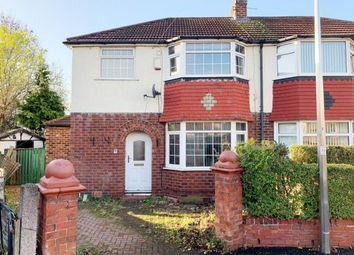 Thumbnail 3 bedroom semi-detached house for sale in Larne Avenue, Cheadle Heath, Stockport, Cheshire