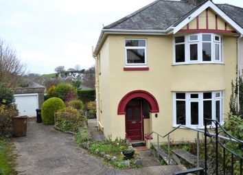 Thumbnail 3 bed semi-detached house to rent in Farwell Road, Totnes