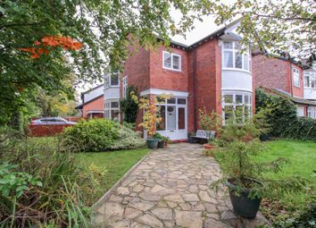Thumbnail 4 bed detached house for sale in Bramhall Lane, Stockport