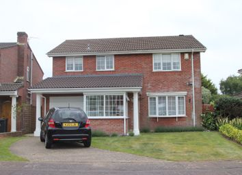 Thumbnail 4 bed detached house for sale in Kestrel Drive, Mudeford