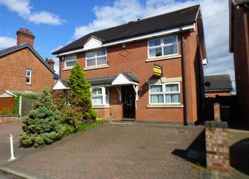 Thumbnail 3 bed semi-detached house for sale in Vicarage Lane, Elworth, Sandbach