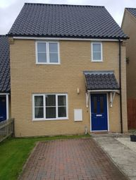 Thumbnail 2 bedroom semi-detached house for sale in Upcher Close, Feltwell, Norfolk