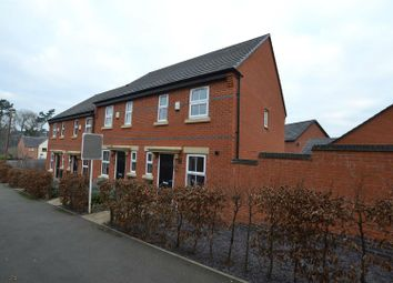 Thumbnail 2 bed town house for sale in Armitage Drive, Rothley, Leicester