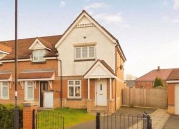 Thumbnail 2 bed semi-detached house for sale in Oakham Gardens, North Shields