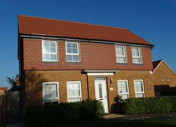 Thumbnail 3 bed detached house for sale in Hubble Close, Selsey, Chichester