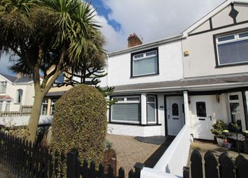Thumbnail 3 bed terraced house to rent in Oakwood Avenue, Bangor