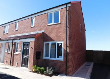 Thumbnail 3 bed end terrace house to rent in Nightingale Close, Clipstone Village, Mansfield