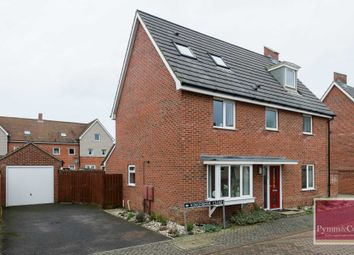 Thumbnail 5 bed detached house for sale in Linnet Road, Queens Hill, Norwich