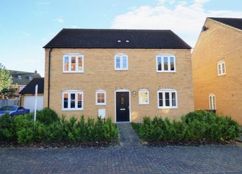 Thumbnail 4 bed detached house for sale in Ribston Close, Woodlands Park, Bedford