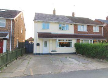 Thumbnail 3 bed semi-detached house for sale in Bracken Road, Long Eaton