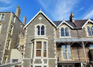 Thumbnail 2 bedroom flat to rent in Highbury Road, Weston-Super-Mare
